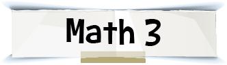 math 3 title