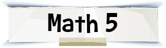 math 5 title