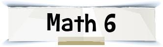 math 6 title