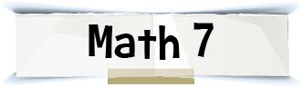 math 7 title